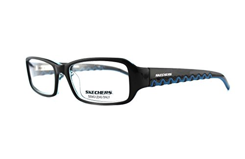 new-authentic-skechers-sk-2035-black-teal-unisex-eyeglasses