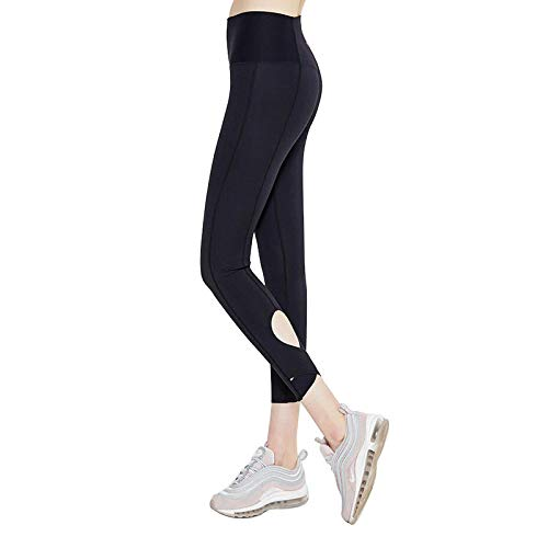 GYXYYF Fitness Yoga Cropped Pants Sport Fitness Yoga Cropped Pants Frauen Laufen Hohe Taille Atmungsaktiv Im Freien