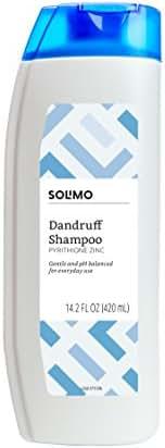 Amazon Brand - Solimo Dandruff Shampoo, Normal to Oily Hair, 14.2 Fluid Ounce
