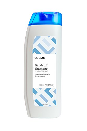 Amazon Brand - Solimo Dandruff Shampoo, Normal to Oily Hair, 14.2 Fluid Ounce