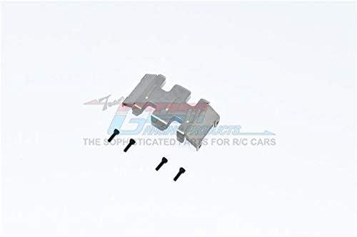 Axial 1/24 SCX24 Deadbolt AXI90081 / JLU CRC AXI00002 Stainless Steel Center Gear Box Bottom Protector Mount - 1Pc Set