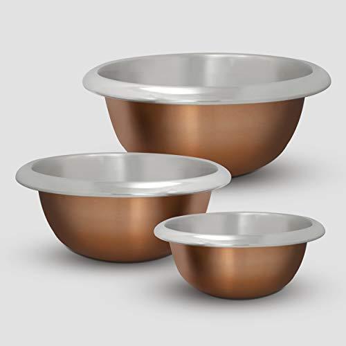 ExcelSteel 937 Mixiing Mixing Bowl, 4.5 Qt, Copper