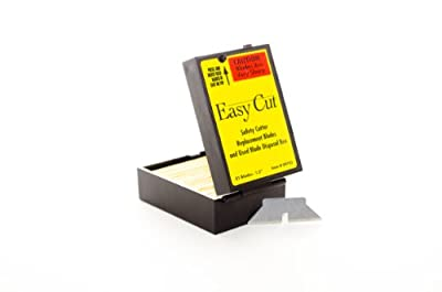 81 Easy Cut / EZ Cutter Replacement Blades 09703 STD Blades Box from Adco Industries