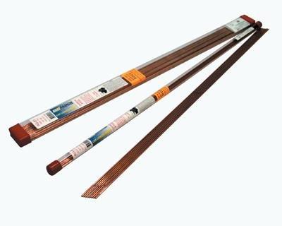 Radnor RAD64001569 1/8'' x 36'' ERCuSi-A Silicon Bronze TIG Welding Rod 1# Tube, English, 15.34 fl. oz, Plastic, 1 x 1 x 1