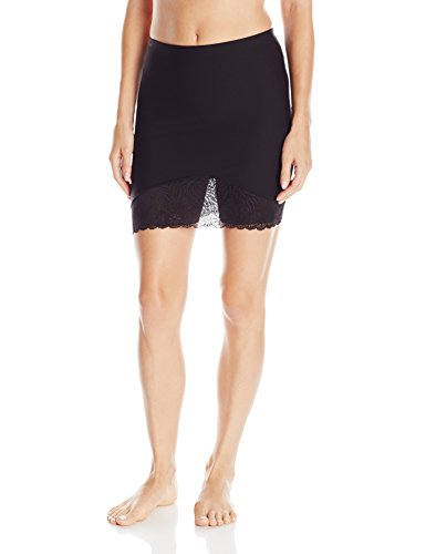 Simone Perele Women's Top Model Skirt Shaper, Black, X-Small/1 - 1 Shaper Slip