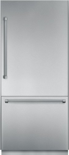 Thermador 36 In. Stainless Steel Bottom Freezer Refrigerator - T36BB820SS
