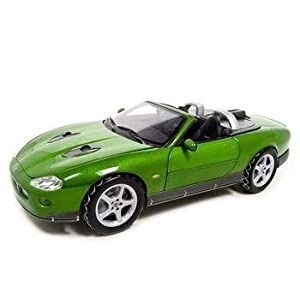 "1/18 Scale Diecast Jaguar XKR Bond Car From ""Die Another Day"" Movie. 5"