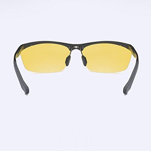 Conductores Hombre Sol Deportes Gafas única Gafas Talla de Hombre 1 polarizadas Anti Sabarry Ultravioleta 1 Gafas Bwq0xdqH
