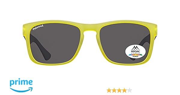 Montana Gafas Sunoptic MP39B gafas de sol de color amarillo incluyendo bolsa de tela