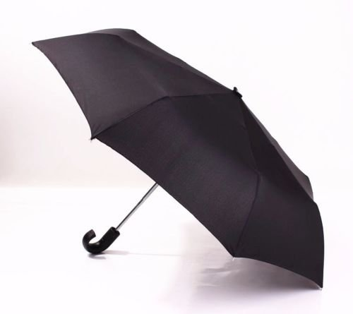 AMAZZANG-Men's Classic Compact Folding Umbrella Windproof Anti-UV Parasol Business Style - Dolce In Spanish Meaning