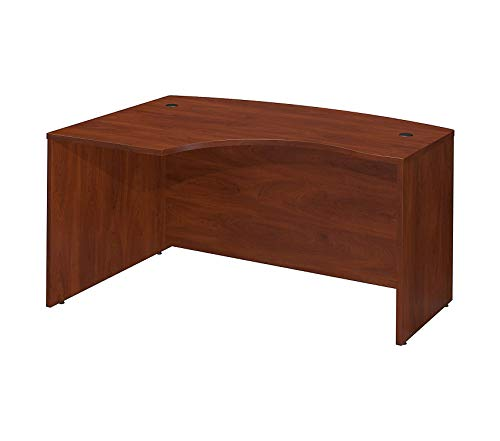 Wood & Style Office Home Furniture Premium Series C 60W x 43D Right Hand L-Bow Desk Shell in Hansen - Lateral Right File Bow