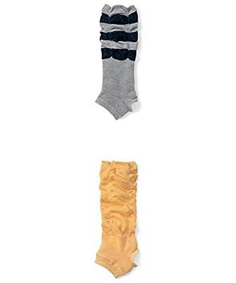 Lucky staryuan 6Pairs Baby Girl Cotton Pedal Kneepads Socks Leg Warmer