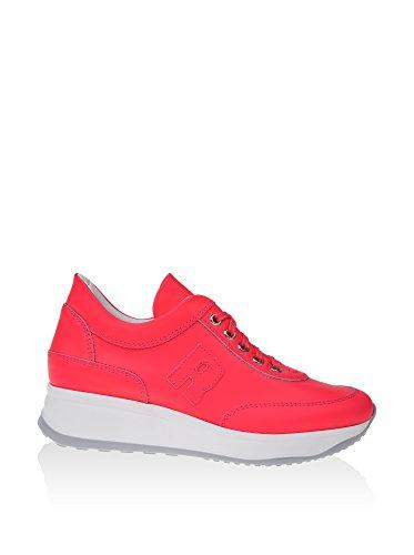 Line Pour Rucu Femme Rose Baskets Corail Corallo SwxTxFEd