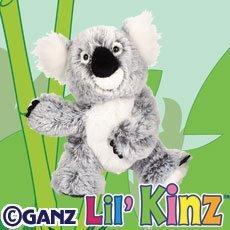 Ganz Lil' Webkinz Plush - Lil' Kinz Koala Stuffed Animal from Ganz