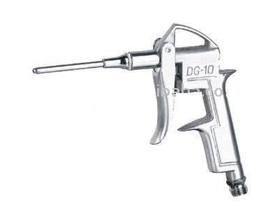 Pistola Mini con alargador para aire con conexión a tornillo de 1/4 para compresor