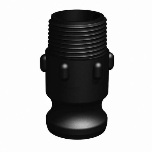 """RealPro Cam & Groove Fitting, 1"""" Male Adapter-1"""" Male Thread"""