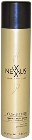 Nexxus Comb Thru Finishing Mist, Hair Spray for Volume, 10 oz