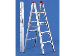 GP Logistics SLD-D4 4 ft. Double Sided Ladder by GP Logistics