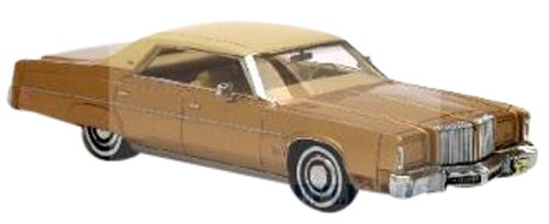NEO 1/43 Chrysler Imperial 4-Door Hardtop Sedan (1975) Gold (japan import)