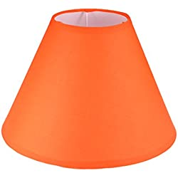 uxcell Lampshades Floor Lamp Shade Light Cover 4.3x10.2x6.8 Inch, Orange