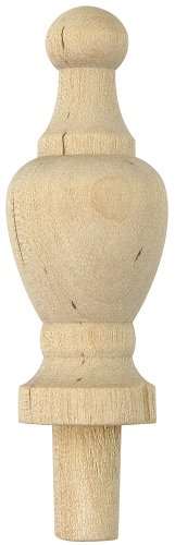 (Platte River 801707, 5-Pack, Wood Specialties, Spindles & Finials, 2-7/8