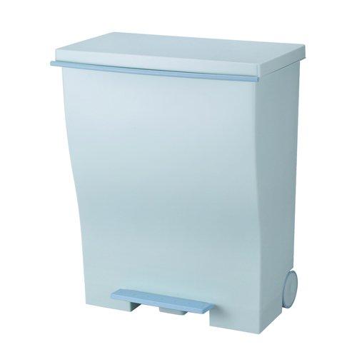 I'mD (アイムディ) ゴミ箱 キャスター付 Kcud クード ワイドペダル オールブルーグリーン 39L KUDWD ABG B00HJJYO6Q オールブルーグリーン オールブルーグリーン