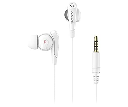 68708af48dd Amazon.com: Sony Premium Lightweight Digital Noise Cancelling Extra Bass Stereo  Headphones With Hands-free calling (White): Home Audio & Theater