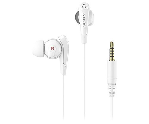 Sony Premium Lightweight Digital Noise Cancelling Extra Bass Stereo Headphones With Hands-free calling (White)