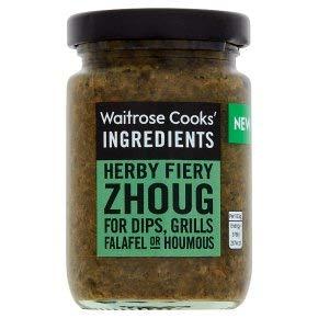 Cooks' Ingredients Zhoug Pasta – voor Dips, Grills, Falafel of Houmous 1x95g