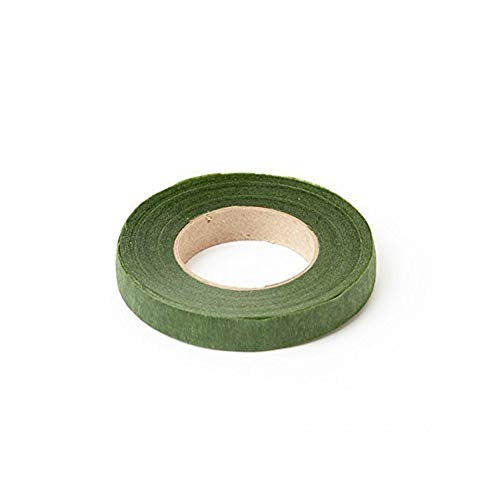 HAKACC Floral Tape Stem Wrap Green Tape For Bouquet Flowers,Pack of 6