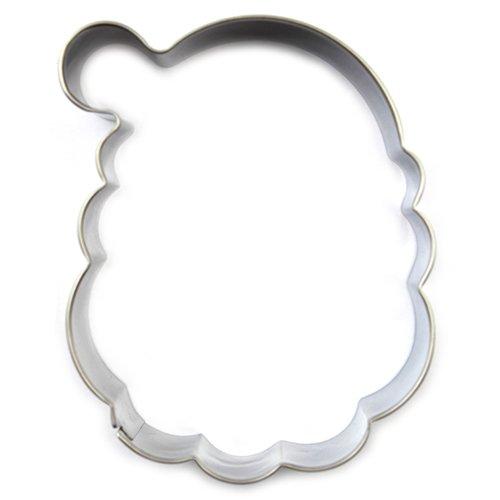 Eoonfirst Santa Head Cookie (Santa Cookie Cutter)