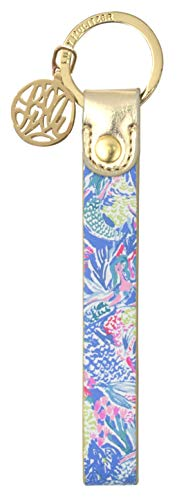 Lilly Pulitzer Strap Key Fob Key Chain (Mermaid)