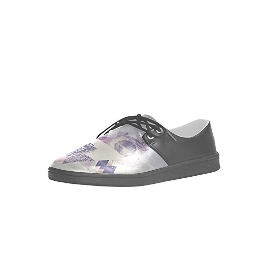 Interestprint Hiver Hipster Ours Polaires Hommes Baskets Fitness Running Oxford Chaussures