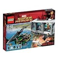 LEGO Super Heroes Iron Man Malibu Mansion Attack (76007) by LEGO Superheroes