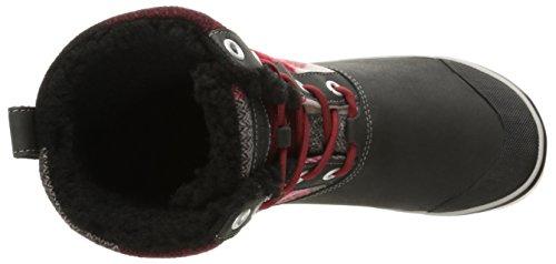 Elsa Dahlia Randonnée Red WP Chaussures de Noir Black Hautes KEEN Femme Boot dvqPadSX