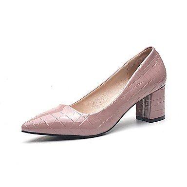Zormey Tacones Mujer Primavera Verano Otoño Zapatos Club Comfort Pu Oficina &Amp; Carrera Parte &Amp; Traje De Noche Chunky Talón Caminando US9 / EU40 / UK7 / CN41