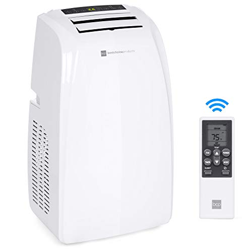 Best Choice Products 4-in-1 14,000 BTU Portable Air Conditioner Cooling and Heating Unit for Up to 650 Sq. Ft Rooms...