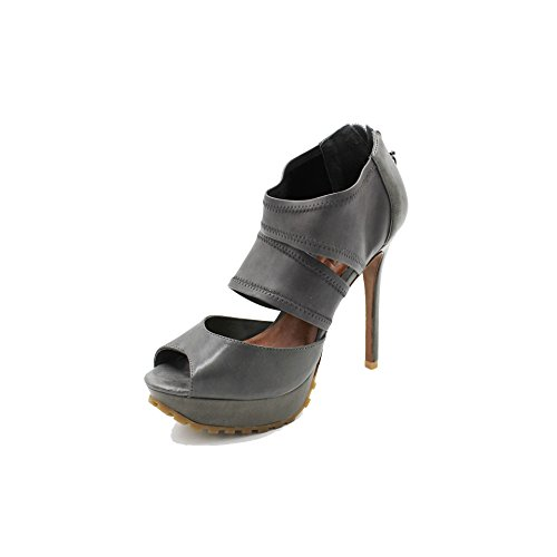 SCHUTZ Sandalias de Vestir de Piel Para Mujer Gris Gris Oscuro