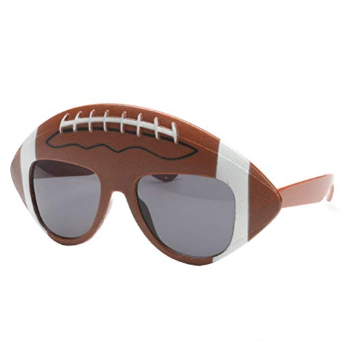 BESTOYARD Party Glasses Football Theme Party Supplies Favors Funny Rugby Eyeglasses Super Bowl Photo Props]()