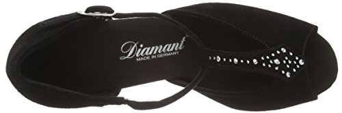 Tanzschuhe Shoes Ballroom Diamant Standard 064 101 010 Women's Schwarz Black amp; Damen Latein Dance qBBwzXPxS