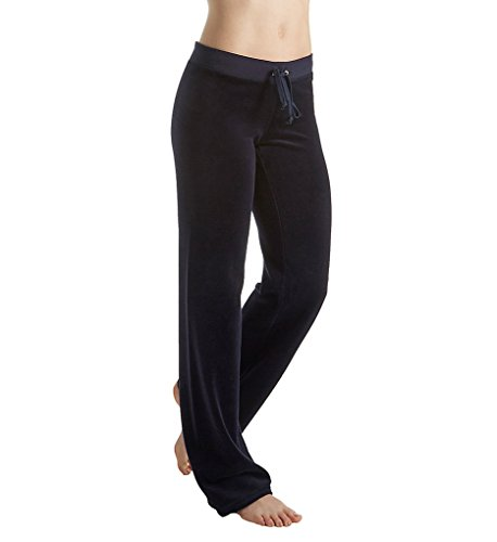 Pants Juicy Couture Drawstring Velour (Juicy Couture Women's Mar Vista Velour Pants Regal Pants)