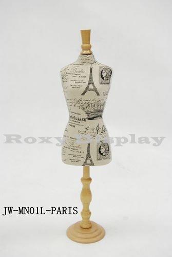 (JW-MN01L-PARIS) Dress Form for Doll