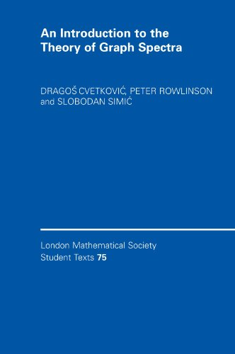 An Introduction to the Theory of Graph Spectra (London Mathematical Society Student Texts)