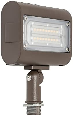 Westgate Lighting LED Flood Light with Knuckle Mount – Security Floodlight Fixture for Outdoor Yard Landscape Garden Lights – Safety Floodlights – UL Listed 15 Watt 5000K Cool White