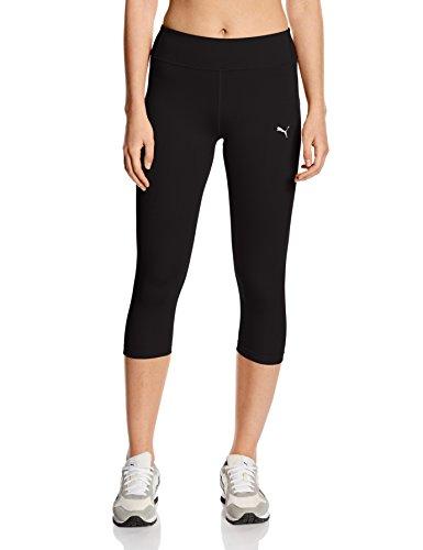 (PUMA Essentials Women's Capri Running Tights - SS16 - Small - Black)