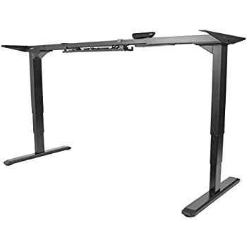 Etonnant VIVO Electric Stand Up Desk Frame W/Dual Motor And Cable Management Rack,  Ergonomic