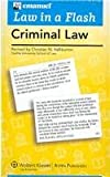 Law in a Flash : Criminal Law, Emanuel, Steven, 0735563977