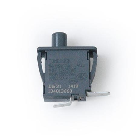 Electrolux 134813660 Dryer Door Switch Genuine Original Equipment Manufacturer (OEM) part for Electrolux, Frigidaire, Kenmore Elite, Kenmore, & Crosley, Gray