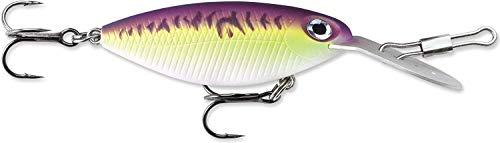Storm Hot n Tot Mossy Fire 5 Fishing Lure, Purple Fire UV, 2-Inch