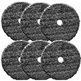 Buff and Shine Uro-Fiber Pad For Compounding and Polishing- 6 inch - 6 pack